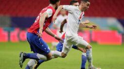 Almirón brilha em vitória do Paraguai por 2 x 0 sobre o Chile na Copa América