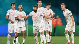 Espanha vence Suíça nos pênaltis e avança à semifinal da Euro