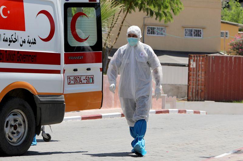 Gaza registra morte por coronavírus e adota isolamento