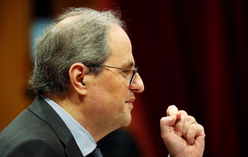 Manutenção de afastamento do líder da Catalunha pode desencadear nova eleição