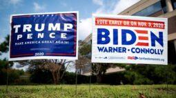 Relatórios da inteligência dos EUA alertam para ameaças extremistas perto da eleição
