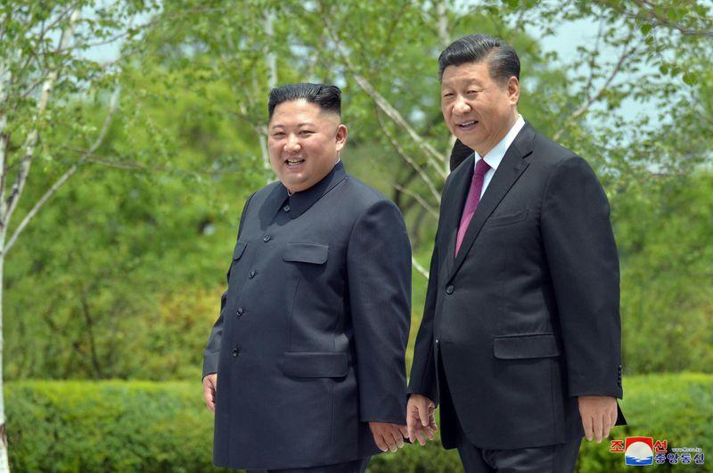 Presidente chinês diz que pretende aprofundar relações com a Coreia do Norte