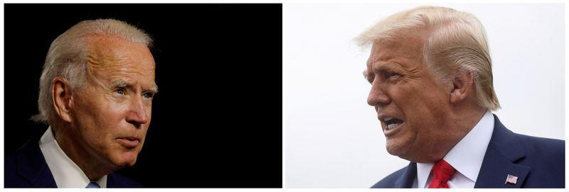 De olho em Estados-chave, Trump e Biden visitam Pensilvânia e Flórida