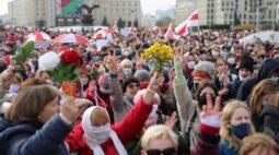 Trabalhadores e estudantes pressionam líder de Belarus com greve nacional