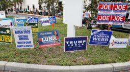 Trump e Biden estão empatados tecnicamente na Flórida; disputa acirrada no Arizona, indica Reuters/Ipsos
