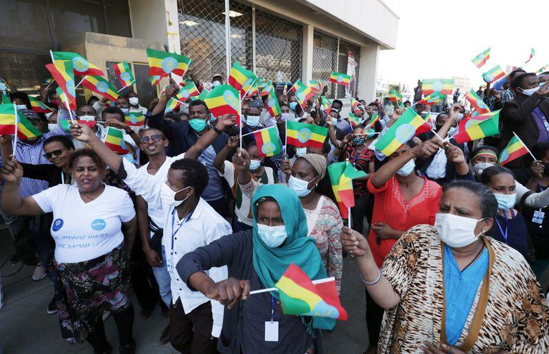 Etiopia anuncia entrada de tropas na capital de Tigré