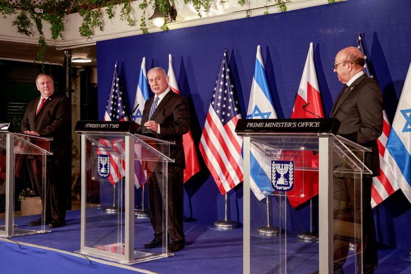Israel e Barein acertam abertura de embaixadas em busca de cooperação maior