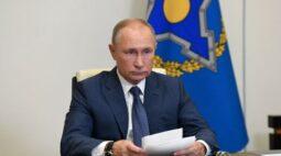 Putin ordena que Rússia inicie vacinação em massa contra Covid-19
