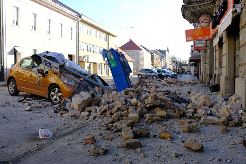 Terremoto mata menina e causa desligamento de usina nuclear ao atingir Croácia e Eslovênia