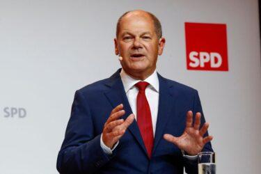 Escolha por Scholz ajuda sociais-democratas a ultrapassarem Verdes nas pesquisas