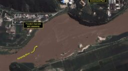 Inundação recente ameaça local de reator nuclear norte-coreano, diz entidade dos EUA