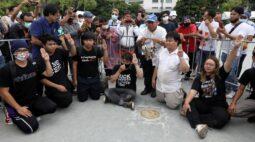 Manifestações contra monarquia ganham força na Tailândia