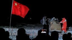Amostras lunares recuperadas pela China pesam menos do que o esperado