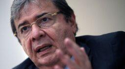 Ministro da Defesa da Colômbia é internado na UTI com Covid-19