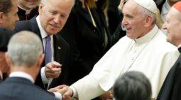 Papa diz a Biden que ora a Deus para guiar a reconciliação nos EUA