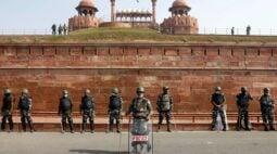 Índia reforça segurança em forte histórico, mas agricultores prometem manter protestos