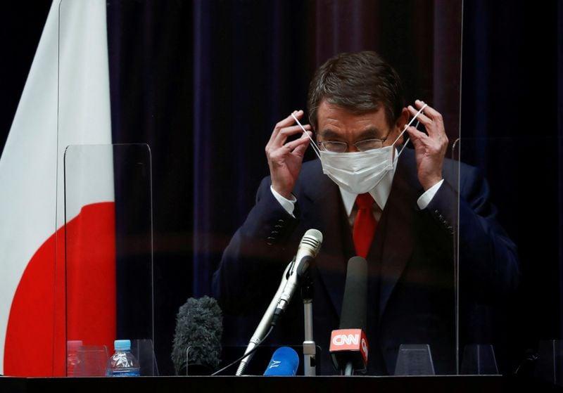 Ministro de vacinas do Japão diz que ritmo de inoculação acelerará em maio