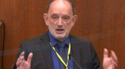 Especialista da defesa diz que George Floyd morreu de doença cardíaca e inalação de fumaça