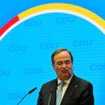 Conservadores alemães escolhem Laschet, cauteloso e de centro, para suceder Merkel