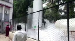 Pelo menos 22 pacientes morrem em hospital na Índia após vazamento de oxigênio