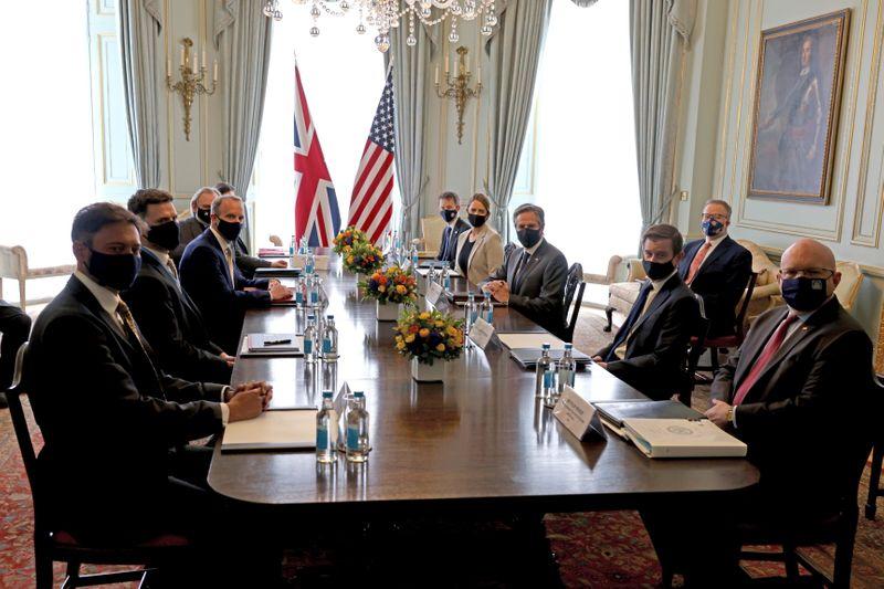 EUA e Reino Unido buscam reforçar laços do Ocidente diante de China e Rússia