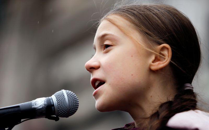 Ativista Greta Thunberg diz que líderes mundiais ainda são negacionistas sobre clima