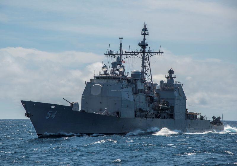 """Pequim diz ter """"repelido"""" navio de guerra dos EUA perto do Mar do Sul da China"""