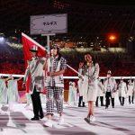 Sem máscaras, delegações de Quirguistão e Tajiquistão geram desconforto em abertura de Olimpíada