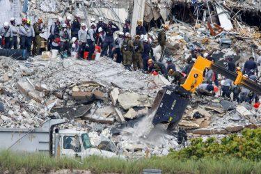 Bombeiros encerram buscas em desabamento de prédio na região de Miami