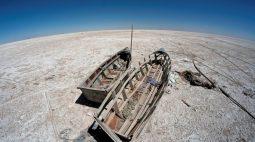 Lago Poopó, na Bolívia, seca e cientistas temem que nunca mais volte a encher