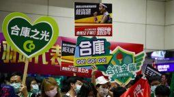 Taiwan recebe atletas olímpicos com escolta de caças e orgulho do nome