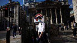 Reino Unido tem maior número de casos de Covid-19 em uma semana desde julho