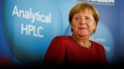 Partido SPD alemão está à frente dos conservadores em eleição para sucessor de Merkel