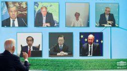 Biden pede a líderes mundiais que cortem metano em luta pelo clima