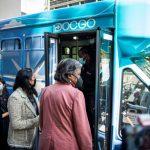Ônibus da vacina busca evitar transmissão da Covid em Assembleia da ONU