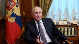 Putin diz que apoio militar ocidental à Ucrânia ameaça Rússia