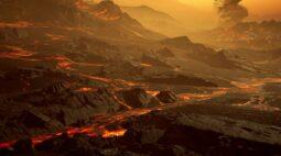 """""""Super-Terra"""" alienígena pode oferecer pistas sobre atmosferas em planetas distantes"""
