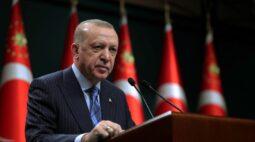 Presidente turco condena potências do Ocidente porinação contra Israel