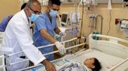 Covid e conflito: Hospitais de Gaza estão sobrecarregados em duas frentes