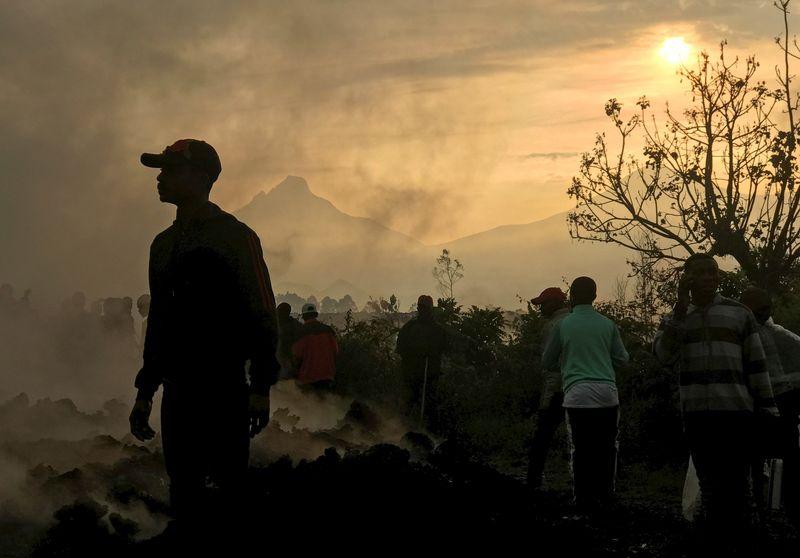 Tremores abalam cidade do Congo e fecham escolas e lojas após erupção vulcânica