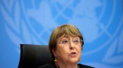 Bachelet quer visitar Xinjiang neste ano e diz que julgamentos de Hong Kong são teste crucial