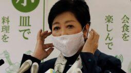 Com fadiga, governadora de Tóquio tira folga; mídia diz que estaria hospitalizada