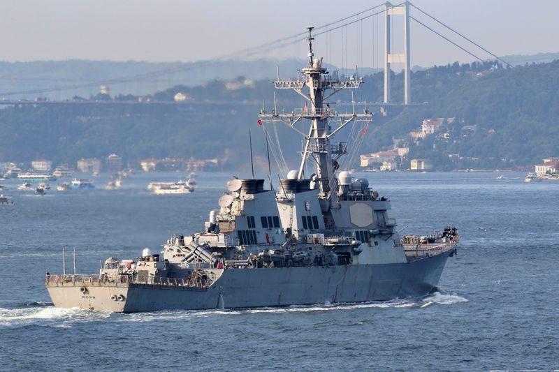 Ucrânia e EUA farão exercícios militares no Mar Negro apesar de protesto da Rússia