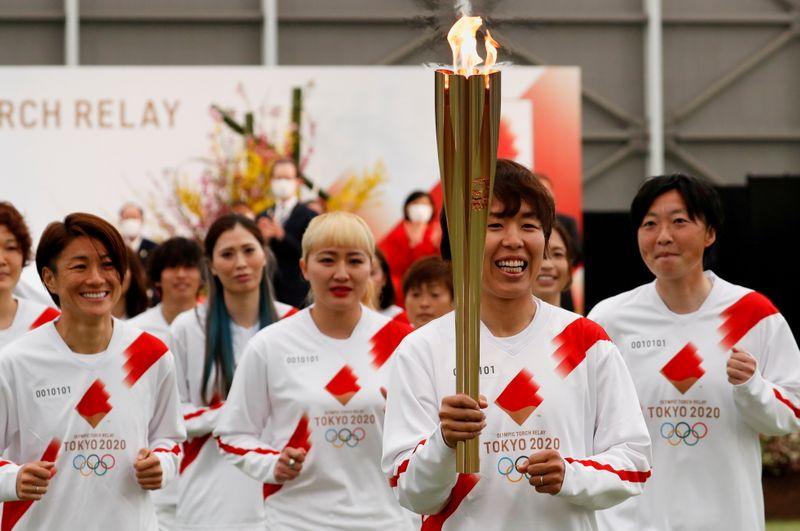 Tóquio desviará parte do revezamento da tocha de vias públicas