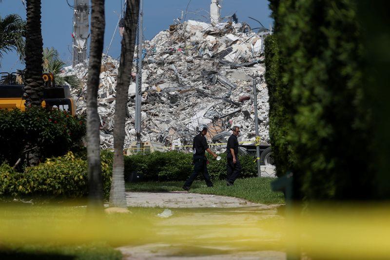 Número de mortos em desabamento na Flórida sobe para 64